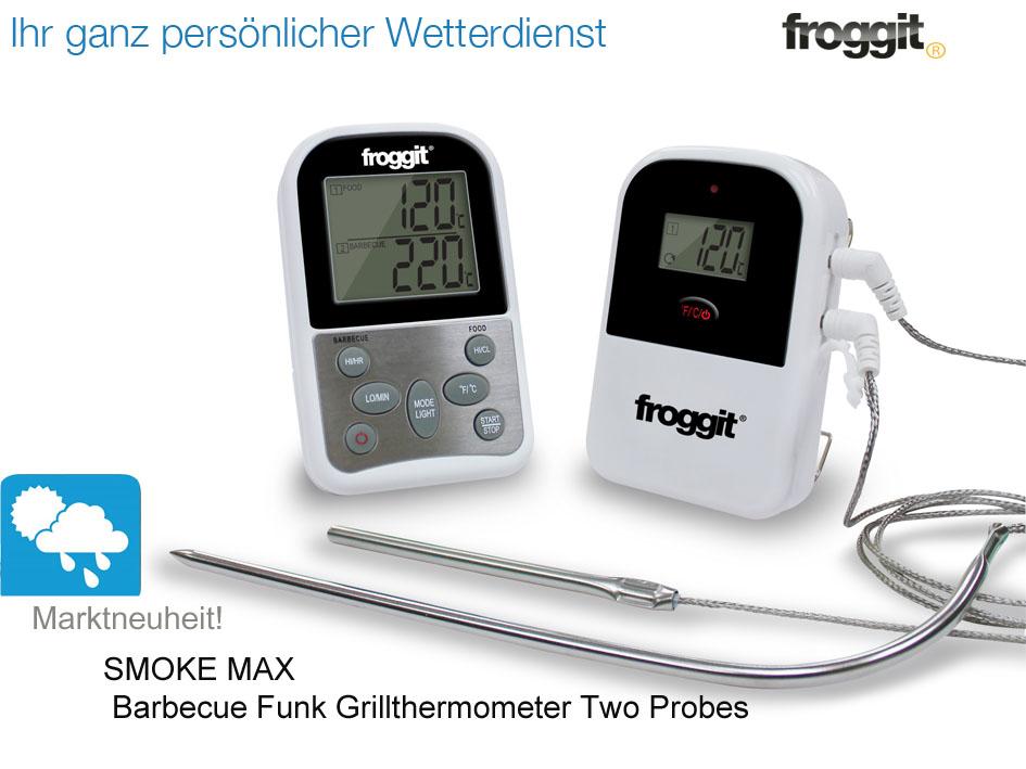 Funk Thermometer Grill : funk grillthermometer 2 f hler bbq grill thermometer digital barbecue ebay ~ Watch28wear.com Haus und Dekorationen