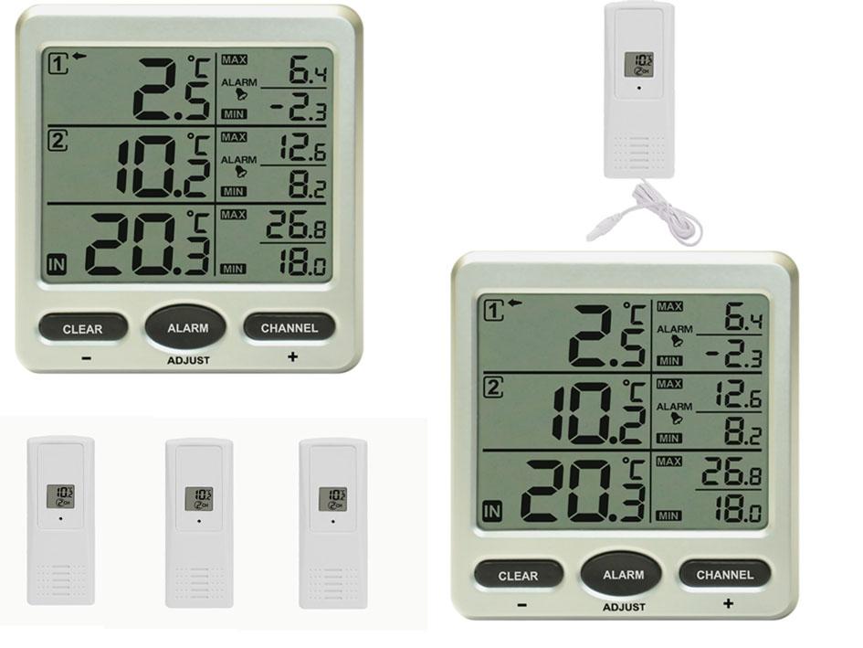 Kühlschrank Thermometer Funk : Grillthermometer test die besten grillthermometer im vergleich